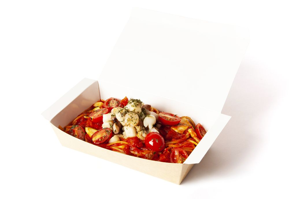 意式茄汁海鮮意粉