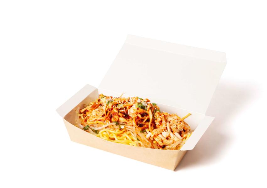 OMB雞絲配油麵或白飯