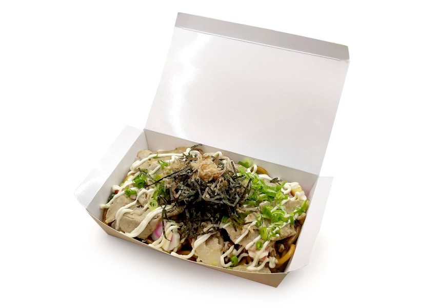 日式豚肉炒烏冬