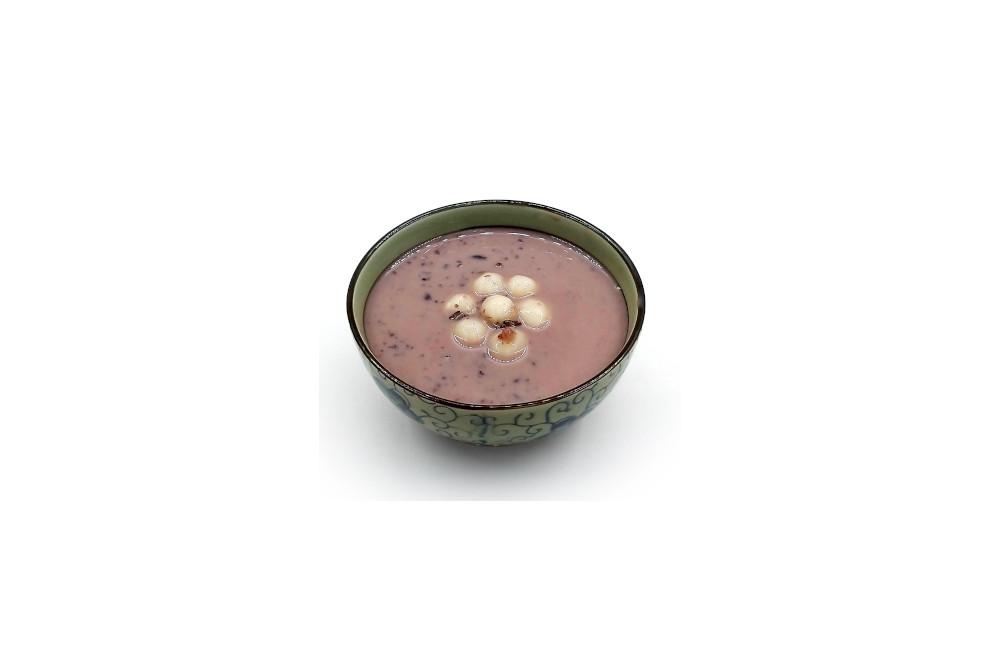 香芋椰汁紫米露