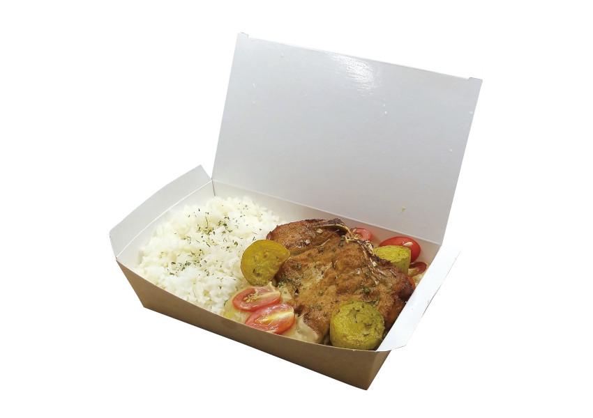 香茅豬扒青咖哩配椰汁飯