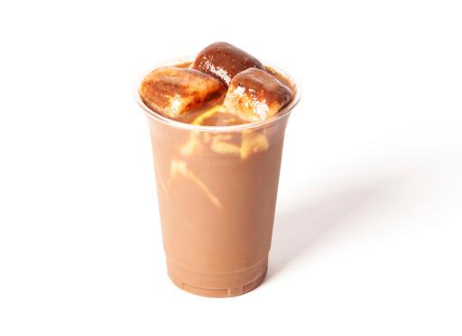 朱古力奶茶布甸(凍+$2/熱)