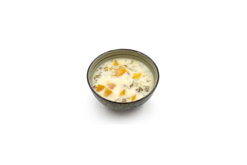 木瓜桃膠鮮奶(凍/熱)