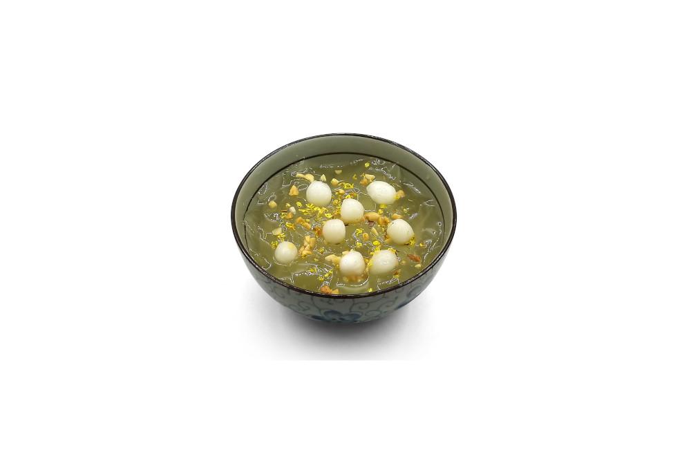 桂花雪燕冰粉